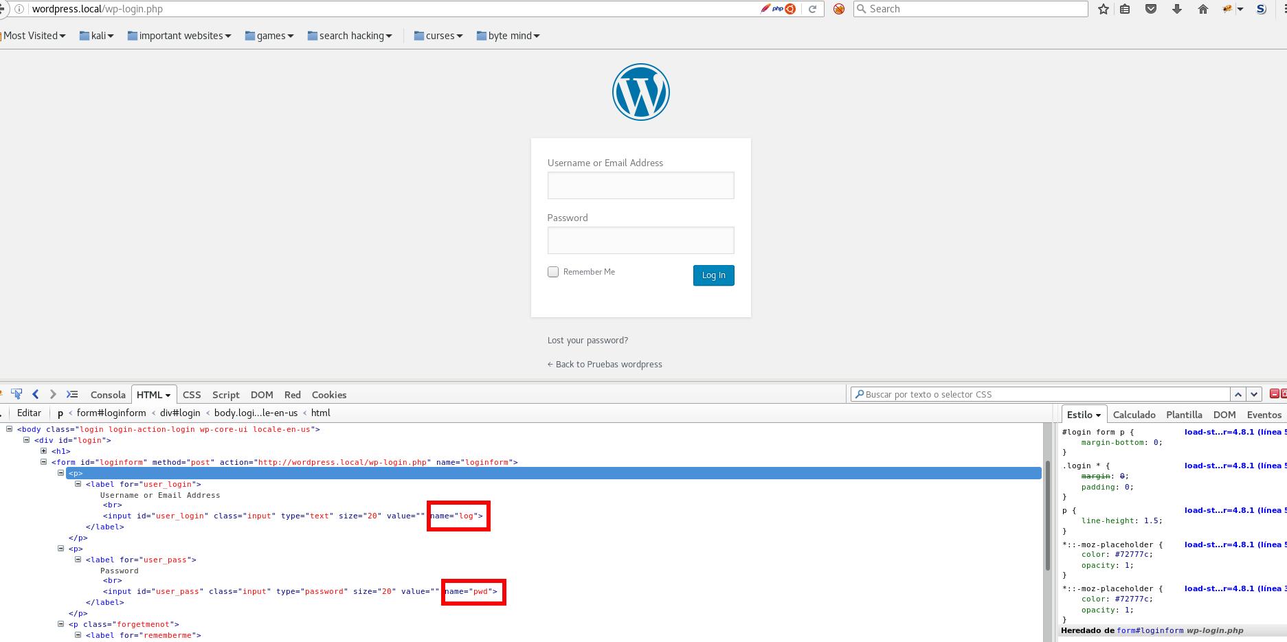 Ataques de fuerza bruta en aplicaciones web con python