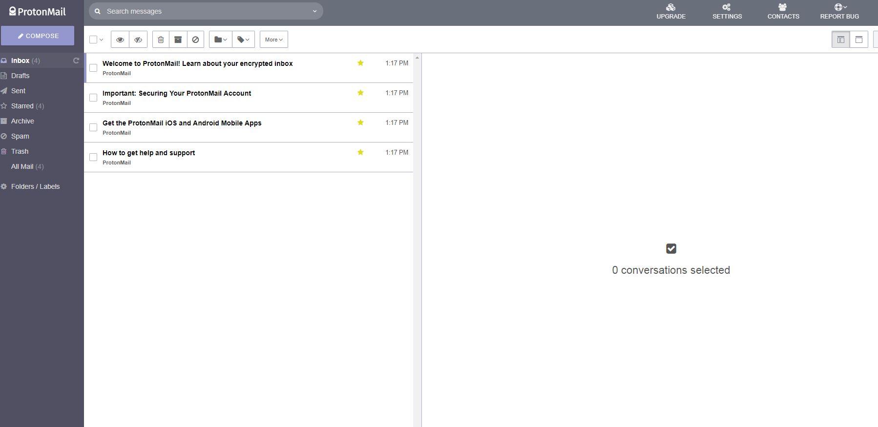 Asegura tu correo electrónico con ProtonMail
