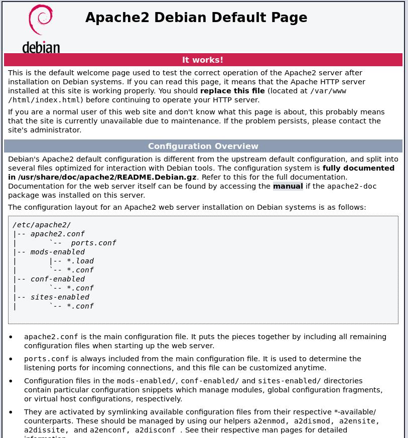 Instalación segura LAMP (Linux, Apache, MySQL, PHP) en Debian