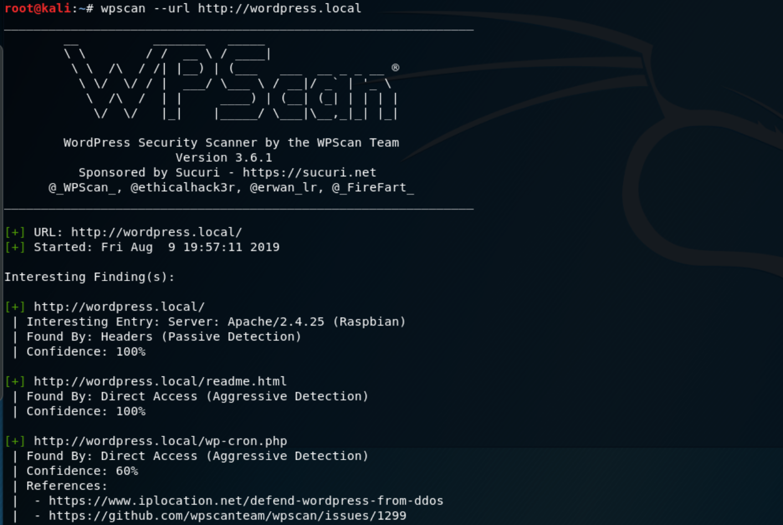 WPScan - Escaner de vulnerabilidades para WordPress