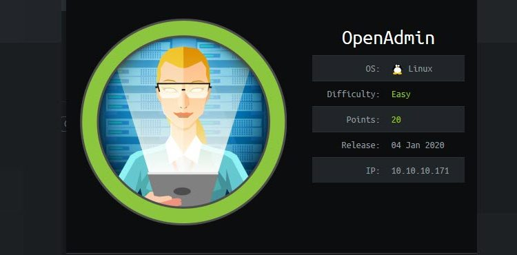 HackTheBox machines - OpenAdmin