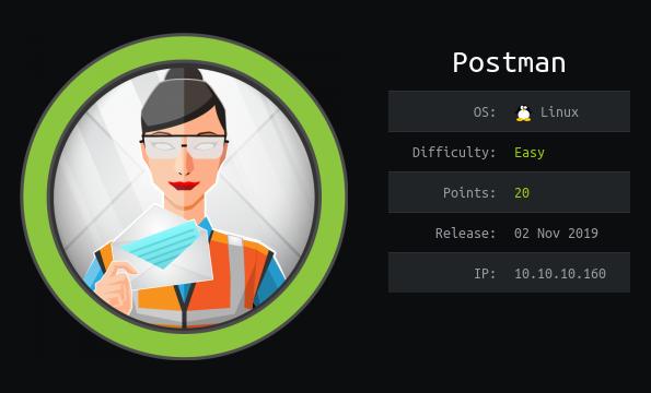 HackTheBox machines - Postman
