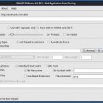 Escaneando contenido web con Dirbuster