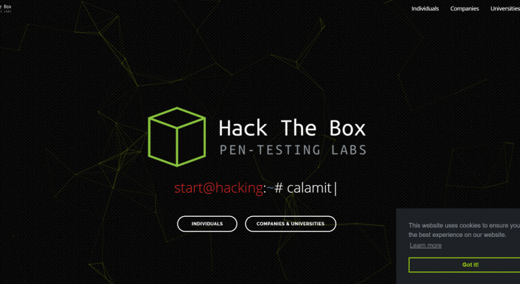 Hackthebox - writeups