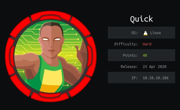 HackTheBox machines - Quick