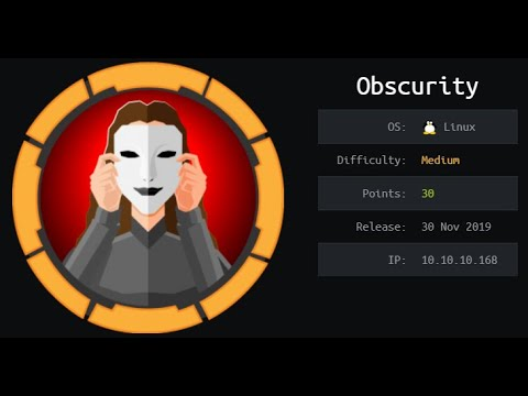 HackTheBox machines - Obscurity