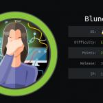 HackTheBox machines – Blunder WriteUp