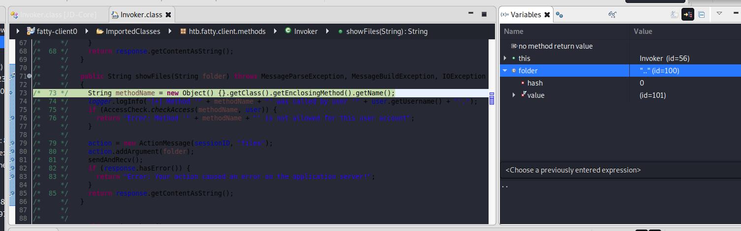 ejecución de fatty-client.jar con eclipse