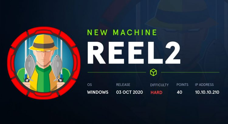 HackTheBox machines – Reel2 WriteUp