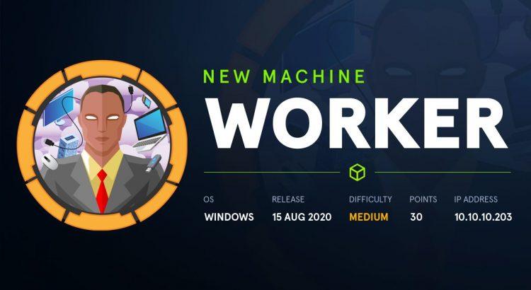HackTheBox machines – Worker WriteUp