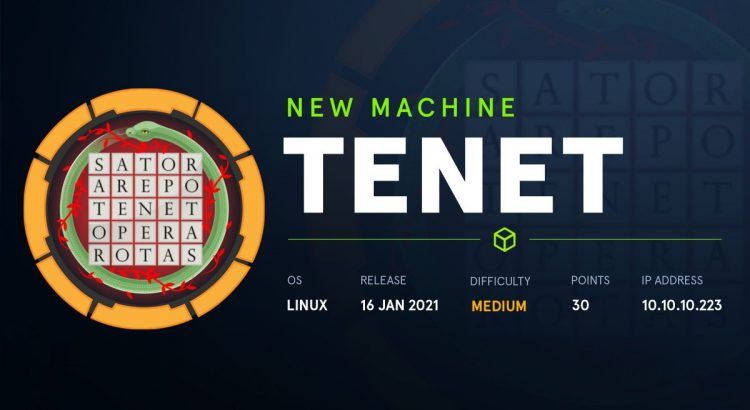 HackTheBox machines – Tenet WriteUp