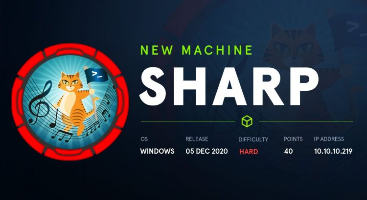 HackTheBox machines – Sharp WriteUp